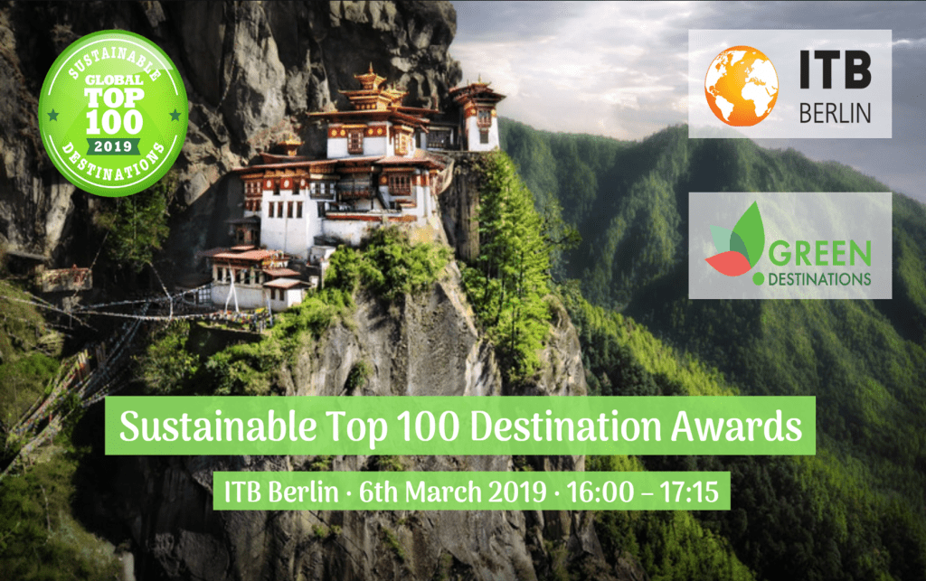 Green Destinations | 2019 Top 100 Awards, ITB Berlin - Green