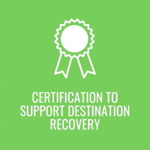 Theme 2 Certification to support destination recovery GGDD20